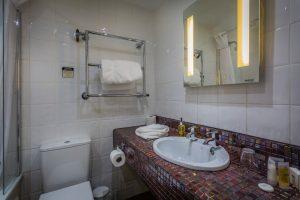 Castle Bedroom 114 Club Single Bathroom