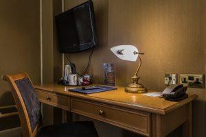 Castle Bedroom 201 Superior Single Desk